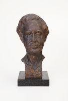 Bronze bust of Professor PR Kirby