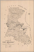 Divisional map of Fort Beaufort