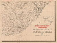 Postal communications : Union of South Africa, 1937 = Posverbindings : Unie van Suid -Afrika, 1937