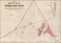 North east part of Griqualand West. Plan E, Annexure to Report of Surveyor General dated 21 March 1881