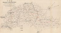 C.G.R. Malmesbury-Greys Pass survey, to accompany G. S. Owen's report dated 3rd May 1898