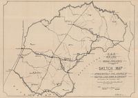 C.G.R. new lines in the Orange Free State, Convention of Dec. 1895 : sketch map shewing approximately the course of routes laid down in Conventn. and followed in the preliminary survey