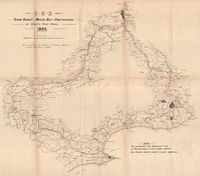 C.G.R. flying survey : Mossel Bay-Oudtshoorn via Gouritz River Gorge, 1896