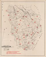Divisional map of Carnarvon shewing its educational conditions and requirements