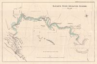 Olifants River irrigation scheme : plan : drawing no. 2 accompanying Hydraulic Engineer's report for 1882