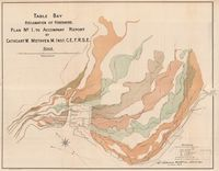 Table Bay : reclamation of Foreshore. Plan No. 1, to accompany report by Cathcart W. Methven