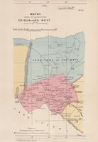 Map no. 1 shewing the relative positions of Griqualand West and the adjoining territories
