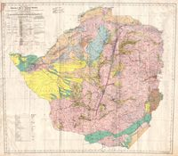 Provisional geological map of Southern Rhodesia and Tati Concession
