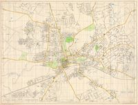Street map of Salisbury