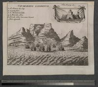 Engraving of Cape