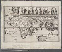 Tabula Geograph in qua Europe, Africae, Asia et circu