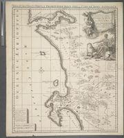 Nieuwe Naaukeurige Land-en Zee-Kaart, van het voornaamste Gedeelte der Kaffersche Kust, Begrypende de Sardanje-Bay en de Caap de Bonne Esperanca met alle des Zelfs Plantazien