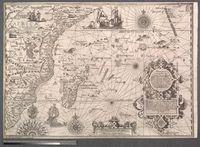 Delineatio Orarum maritimarum Terrae vulgo indigitatae Terra do Natal item Sofala Mozambicae &  Melindae