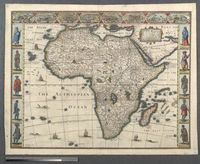 Africae, described, the manners of their Habits, and buildinge: