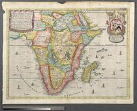 A Mapp of the Higher and Lower Aethiopia. Comprehending Ye Several Kingdomes & c. in Each, to Witt, in the Empire of the Abissines, the Coast of Zanguebar, Abex, and Aian, with the Kingdomes of Nubia, and Biafra & c. In the Lower Aethiopia th
