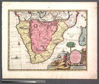 La Basse Ethiopie en Afrique avec les Royaumes qui en dependent, ses Bayes et Rivieres, suivant les Memoires les plus recens des Voyageurs, nouvellement mise en lumiere par