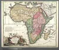 Totius Africa Nova Repraesentatio qua practer diversos in ea Status et Regiones, etiam Origo Nili et veris RRPP Missionariorum Relationibus ostenditur