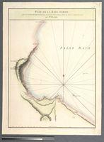 Plan de la Baye Simon, Situe au Cap de Bonne Esperance, suivant les Observations faites en Aout et Septembre 1775, par Mr. Dalrymple