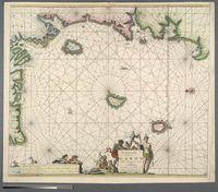 Pascaarte van de Bocht van Gabon tuschen C. Formosa and C. de Lopo