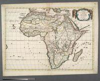 Africa Vetus, Nicolai Sanson Christianis Galliar Regis Geographi Recognita Emendata et Multis in locis Mutata, Conatibus Geographicis Gulielmi Sanson N. Filii
