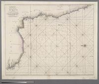 A Chart of the Coast of Africa from Cape Virde to Cape to Cape Bona Esperance