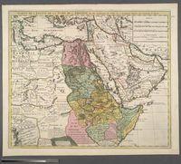 Carte de l'Egypte, de Ia Nubie, de l'Abissinie