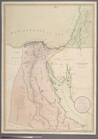 Egypt with part of Arabia and Palestine. Compiled from the draughts of the Scientific Institute established at Cairo 1800