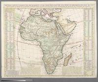 Nouvelle Carte d'Afrique avec des Remarques et des Tables pour trouver sans peine les differents Peuples de cette Partie du Monde par les Renvois alphabetiques suivant les plus nouvelles Observations de Messieurs de l'Academie des Siences