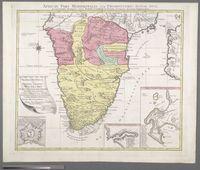 Africae Pars Meridionalis cum Promontorio Bonae Spei Accuratissime Delineato Opera
