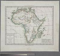 Afrique avec ses principales Divisions et leurs Capitales