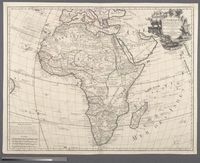 L'Afrique dressee sur les observations de Ms. de l'Academie Royale des Sciences, et quelques autres, et sur les memoires les plus recens
