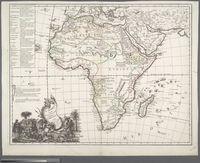L'Afrique Suivant les Derniers Observations de Mr. Hass et des RRPP Jesuites