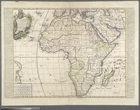 L'Afrique divisee selon le tendue de tous ses etats assujetti aux observations astronomiques avec des nottes historiques et geographiques touchant les naturels de ce continent