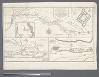 A General Map of the River Sanaga or Senegal from the Falls of Govina to the Ocean, Taken from a French Engineer in 1718