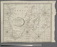 A Correct Chart of the Southern Coasts of Africa from the Equator, to the Cape of Good Hope