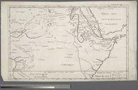 Karte von Aethiopien und Garamantien