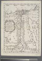 Egypte divisée en ses Douze Cassilifs ou Gouvernemens ...Tirée de Sanut