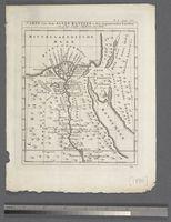 Carte von dem Alten Egypten