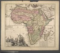 Africae inTabula Geographica Delineatio