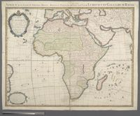 Carte D'Afrique Dressee pour l'usage du Roy