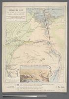 Isthme de Suez avec Tracé de Canaux Concédés par S. A. le Vice-Roi d'Egypte pourle Jonction du Nil au Lac Timsah tel qu'il a été arrèté par le Commission Internationale 1857