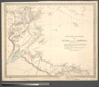 North Africa or Barbary III: Tunis and part of Tripoli