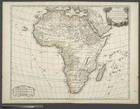 L'Afrique dressée, sur les relations les plus recentes, et assujettie aux observations astronomiques