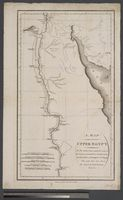 A Map of Upper Egypt ... Desaix ... Expedition of Bonaparte ... Citizen Denon