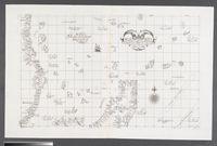 Carta particolare della parte Tramontana dell Isola di San Lorenza con la costa diripetto sin. a Monbazza con l'Isole e Seccagne Int