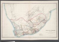 South Africa by Jas Wyld, Geographer to the Queen and H.R. H. Prince Albert