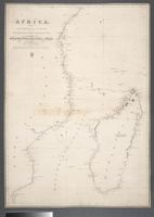 Africa from Cape Correntes to Juba Islands including Madagascar, Comoro, Zanzibar Ids & c. by Order of the Right Honble the Lords Commissioners of the Admiralty under the direction of Capt. W. F. W. Owens from 1822 - 1826