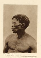 Man from Mount Temple, Langebergen, G.W.