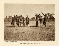 Manarwa dance at Ghanzi, B.P.