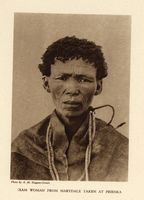 |Xam woman from Marydale taken at Prieska